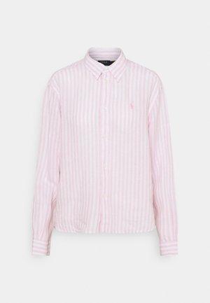 STRIPE - Button-down blouse - garden pink