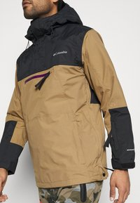 Columbia - PARK RUN ANORAK - Snowboard jacket - delta/black/plum - 4