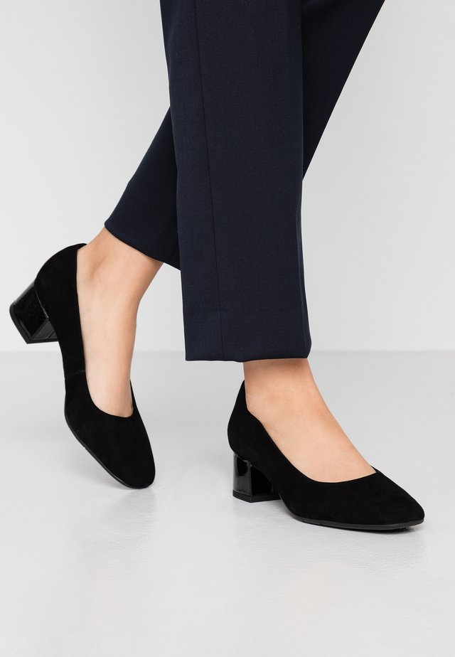 WOMS COURT SHOE - Decolleté - black