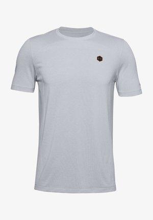 HERREN RUSH SEAMLESS - Sportshirt - halo gray