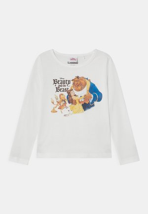 DISNEY BEAUTY AND THE BEAST BELLE  - T-shirt à manches longues - offwhite