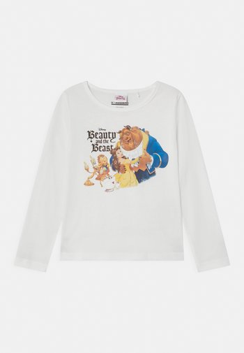 DISNEY BEAUTY AND THE BEAST BELLE  - Long sleeved top - offwhite