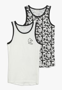 Jacky Baby - VEST SNOWBOARD 2 PACK - Undershirt - black - 0