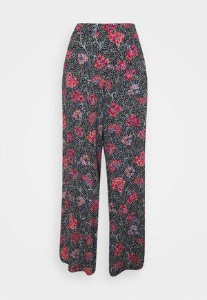 ISOU - Spodnie materiałowe - noir