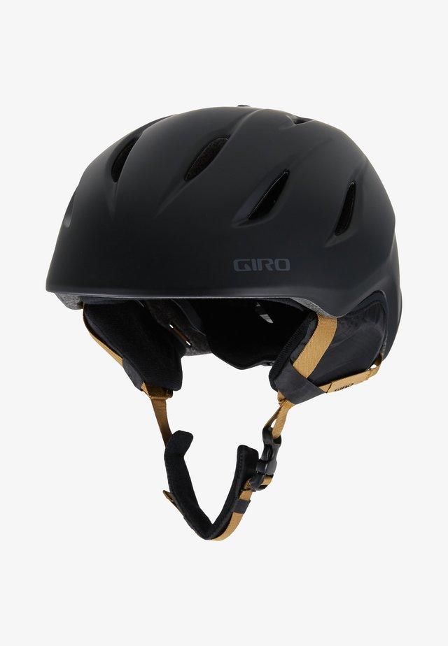 NINE - Helm - matte black bronze