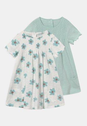 BABY DRESSES 2 PACK - Žerzejové šaty - ivory