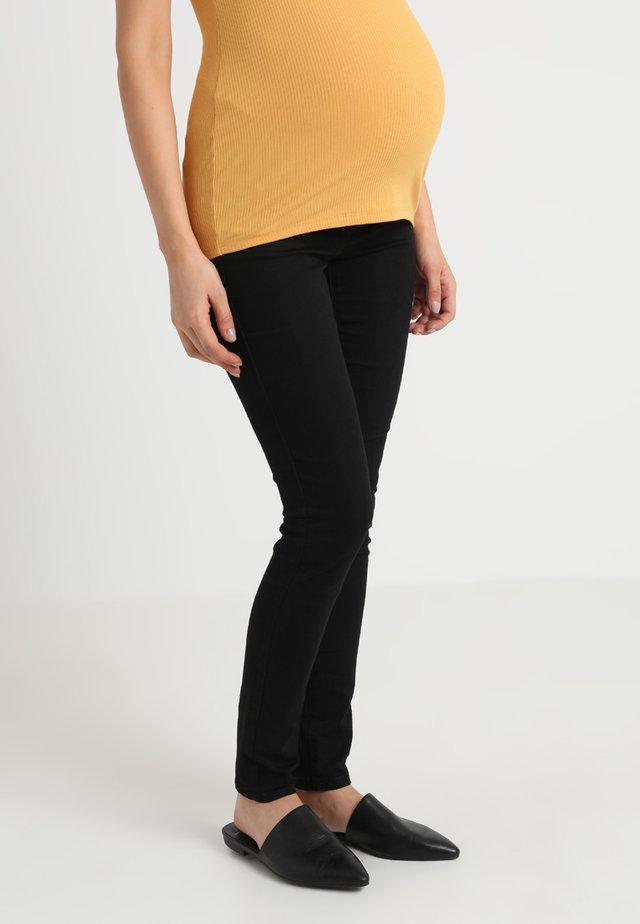 MLLOLA ELASTIC - Slim fit jeans - black denim