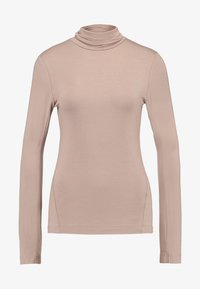 French Connection - VENETIA SPLIT CUFF - Long sleeved top - classic camel - 3