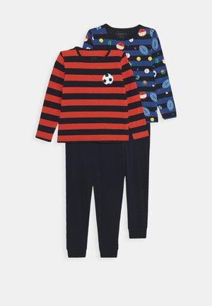 NKMNIGHTSET 2 PACK - Pyjama set - dark sapphire