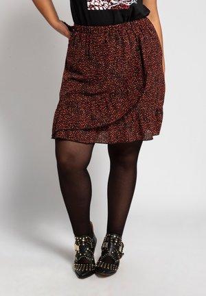 A-line skirt - marsalarot