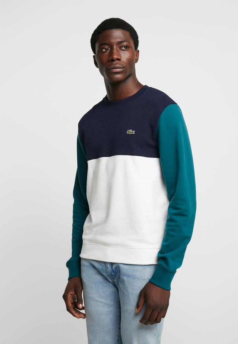 Lacoste - Sweatshirt - farine/marine