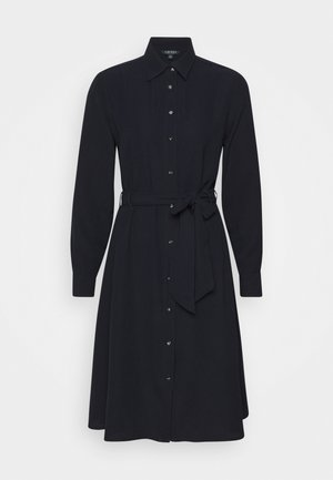 TRIPLE GEORGETTE - Shirt dress - navy