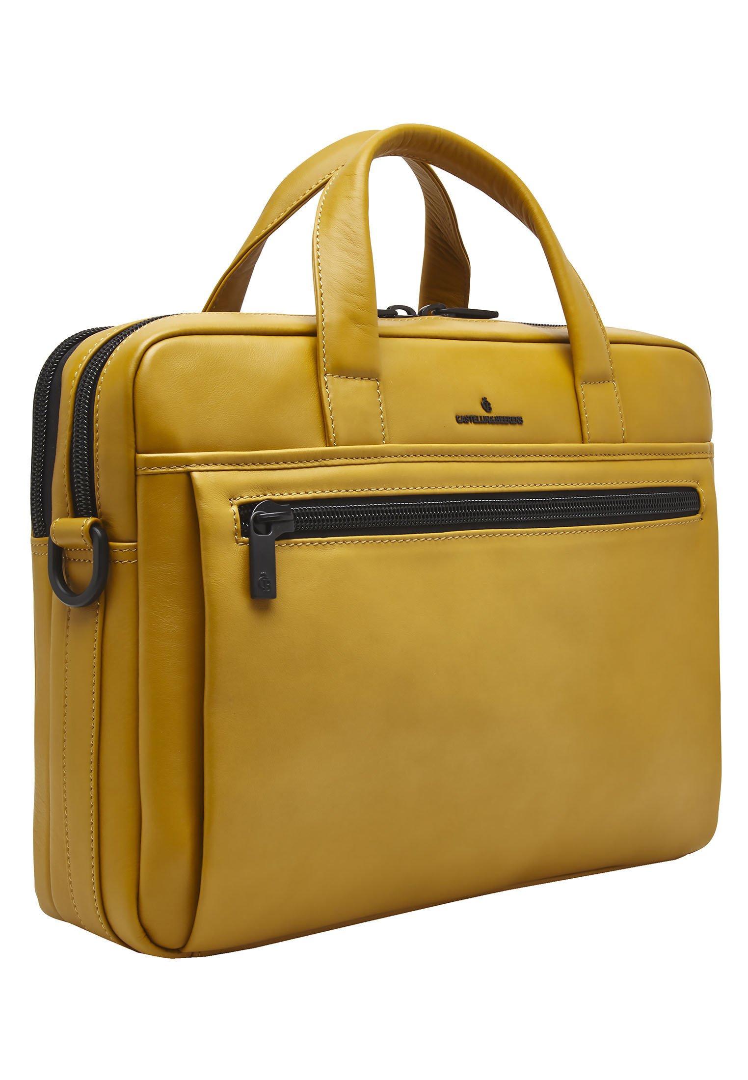 Castelijn  Beerens Aktentasche - yellow/gelb - Herrentaschen iR40c
