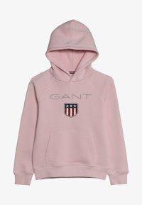 GANT - SHIELD LOGO HOODIE - Hoodie - royal pink - 3