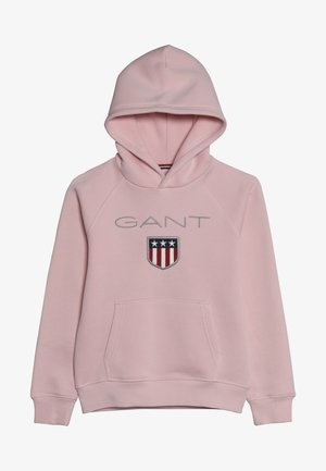 SHIELD LOGO HOODIE - Jersey con capucha - royal pink