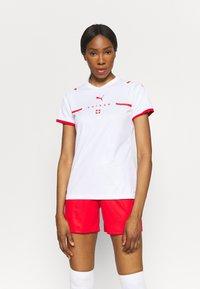 Puma - SCHWEIZ SFV AWAY REPLICA  - Club wear - white/red - 0