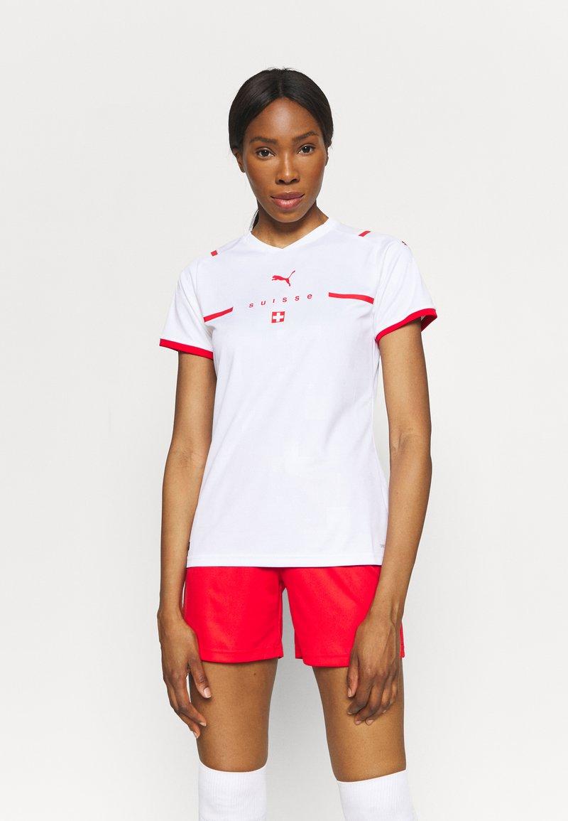 Puma - SCHWEIZ SFV AWAY REPLICA  - Club wear - white/red