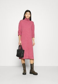 Samsøe Samsøe - AMARIS DRESS  - Jumper dress - pink melange - 1