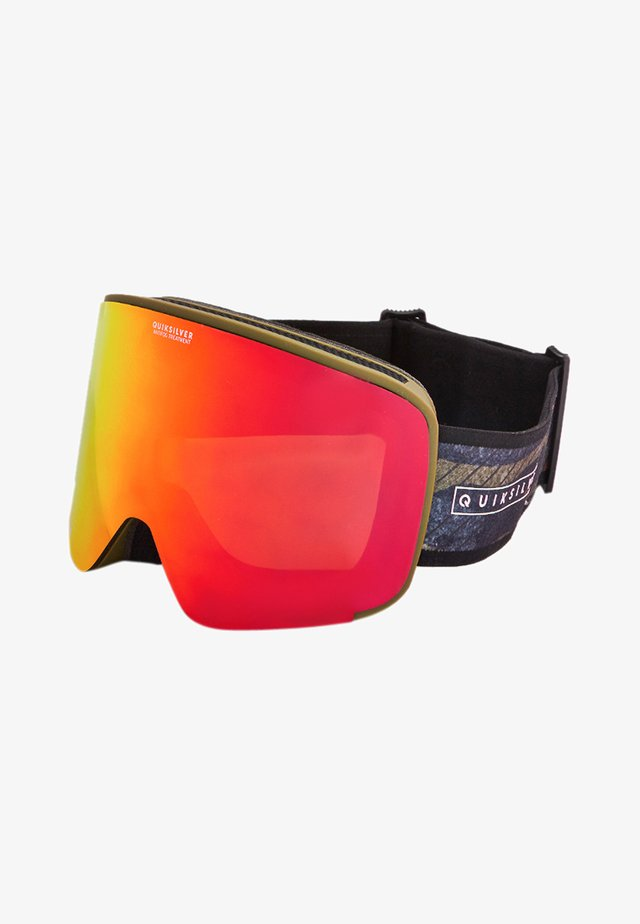 SWITCHBACK  - Masque de ski - military olive gps point
