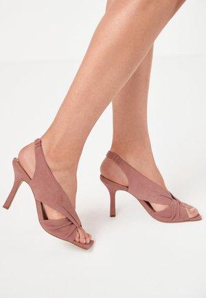 SIGNATURE  - Sandalen met hoge hak - pink