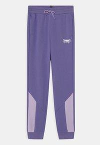 Puma - REBEL UNISEX - Teplákové kalhoty - hazy blue - 0