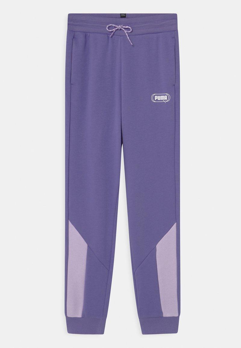 Puma - REBEL UNISEX - Teplákové kalhoty - hazy blue