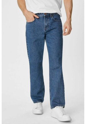 blue denim - Straight leg jeans - jeans-blau