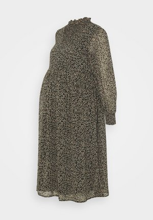 PCMTILLE MIDI DRESS - Day dress - black