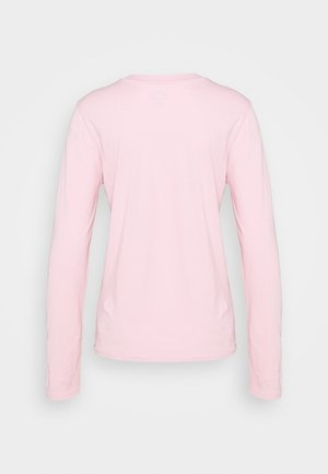 Long sleeved top - garden pink