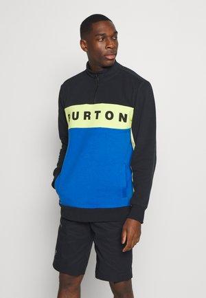 LOWBALL ZIP - Sweater - black