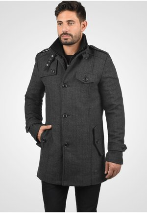 BRANDAN - Short coat - dark coal