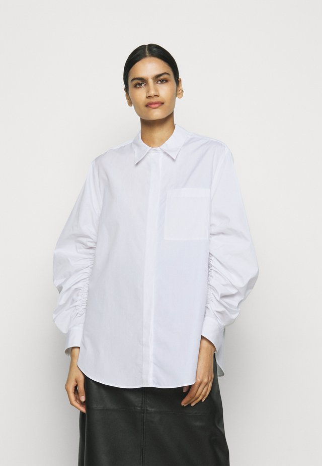 GATHERED - Camicia - white