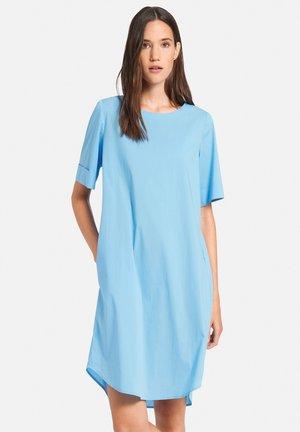Korte jurk - himmelblau