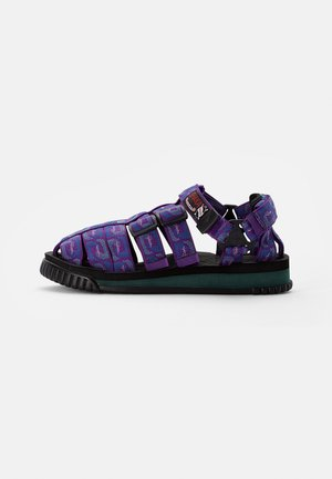 HIKER - Sandals - purple wave