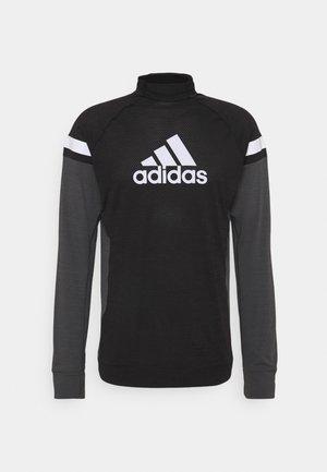 BLOCK RESPONSE AEROREADY - T-shirts med print - black/grey