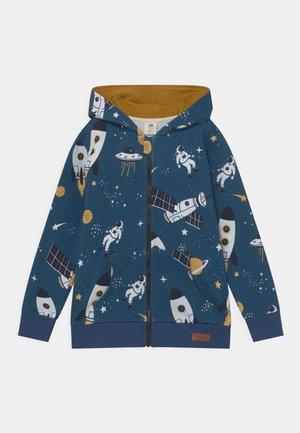 SPACE TRIP UNISEX - Sweater met rits - dark blue