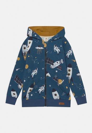 SPACE TRIP UNISEX - Zip-up sweatshirt - dark blue