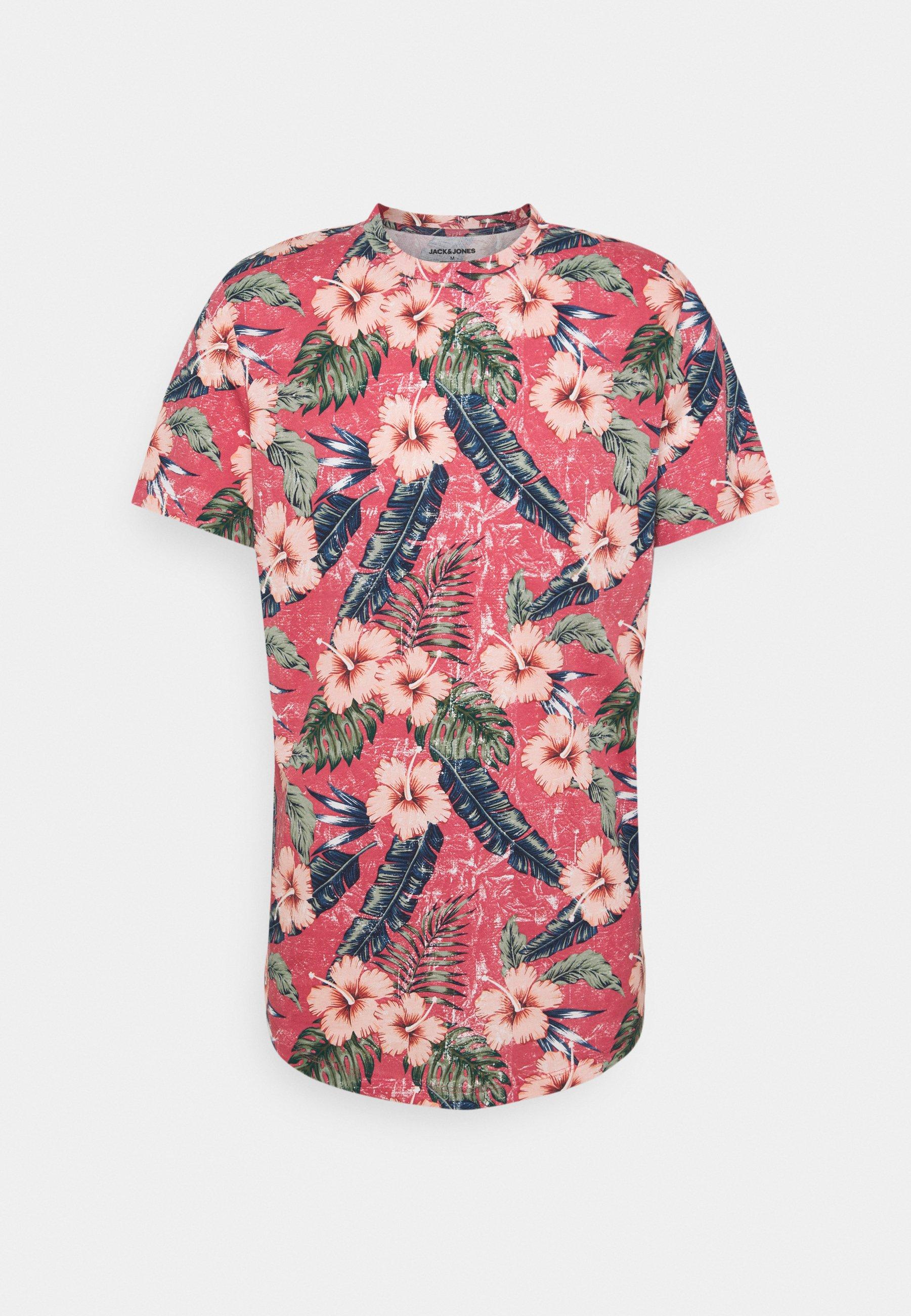 Homme JJPOP TEE CREW NECK - T-shirt imprimé