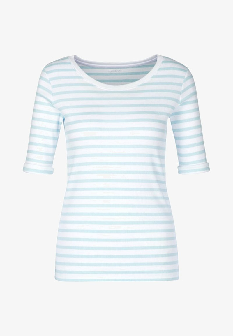 Marc Cain - Basic T-shirt - bleu
