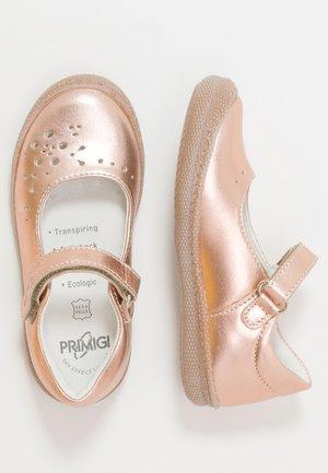 Ankle strap ballet pumps - rame