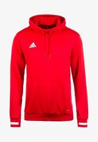 adidas Performance - TEAM19 - Hoodie - power red / white - 0