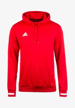 TEAM19 - Hoodie - power red / white