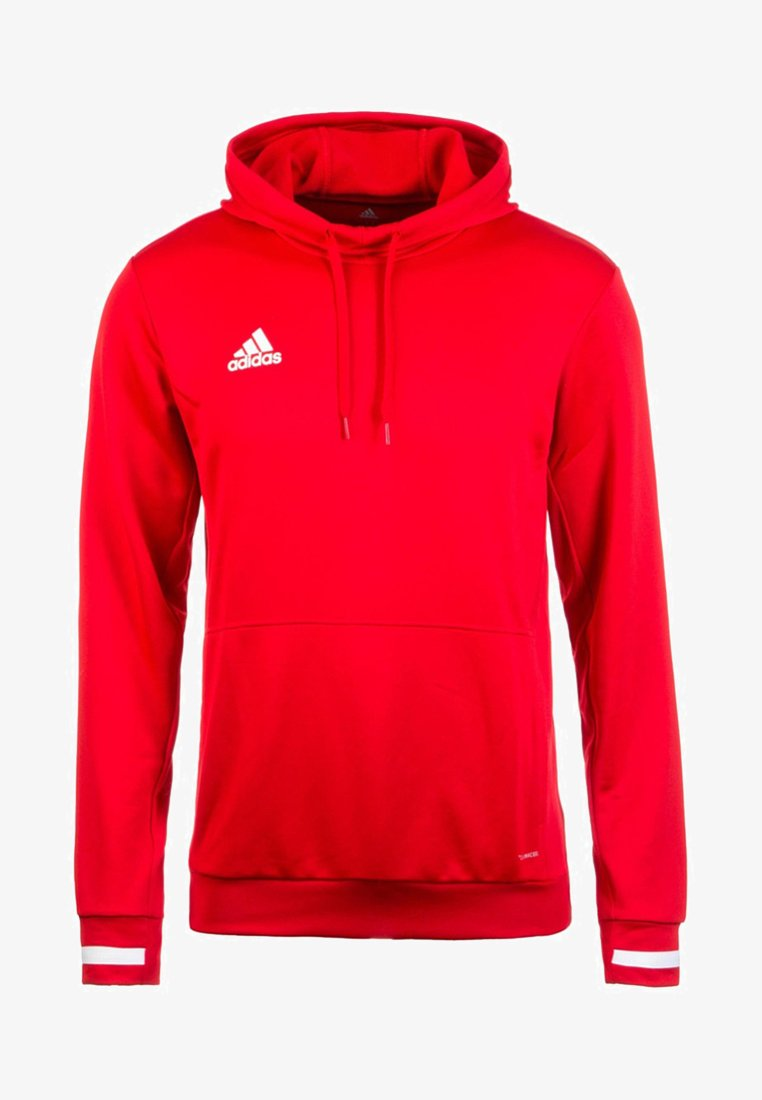 adidas Performance - TEAM19 - Hoodie - power red / white