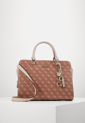CAMY LARGE GIRLFRIEND SATCHEL - Kabelka - cinnamon multi