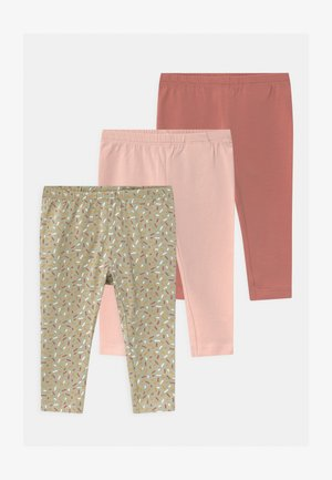 NBFBARBEL 3 PACK - Leggings - Trousers - desert sage