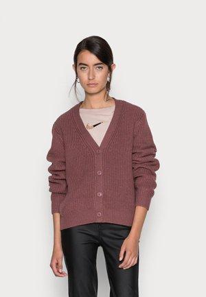 ONLSOOKIE MELTON LIFE - Cardigan - rose brown
