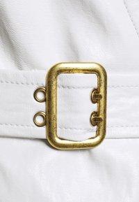 Pinko - ATTIVO ABITO SIMILPELLE - Day dress - white - 2