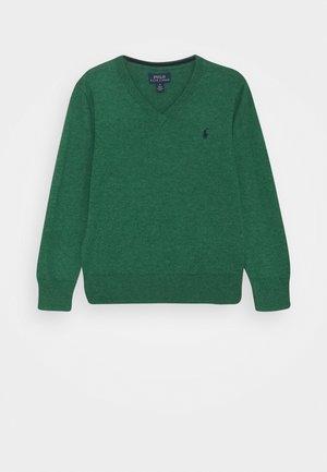 Jersey de punto - verano green heather