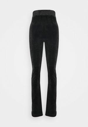 FREYA - Tracksuit bottoms - black