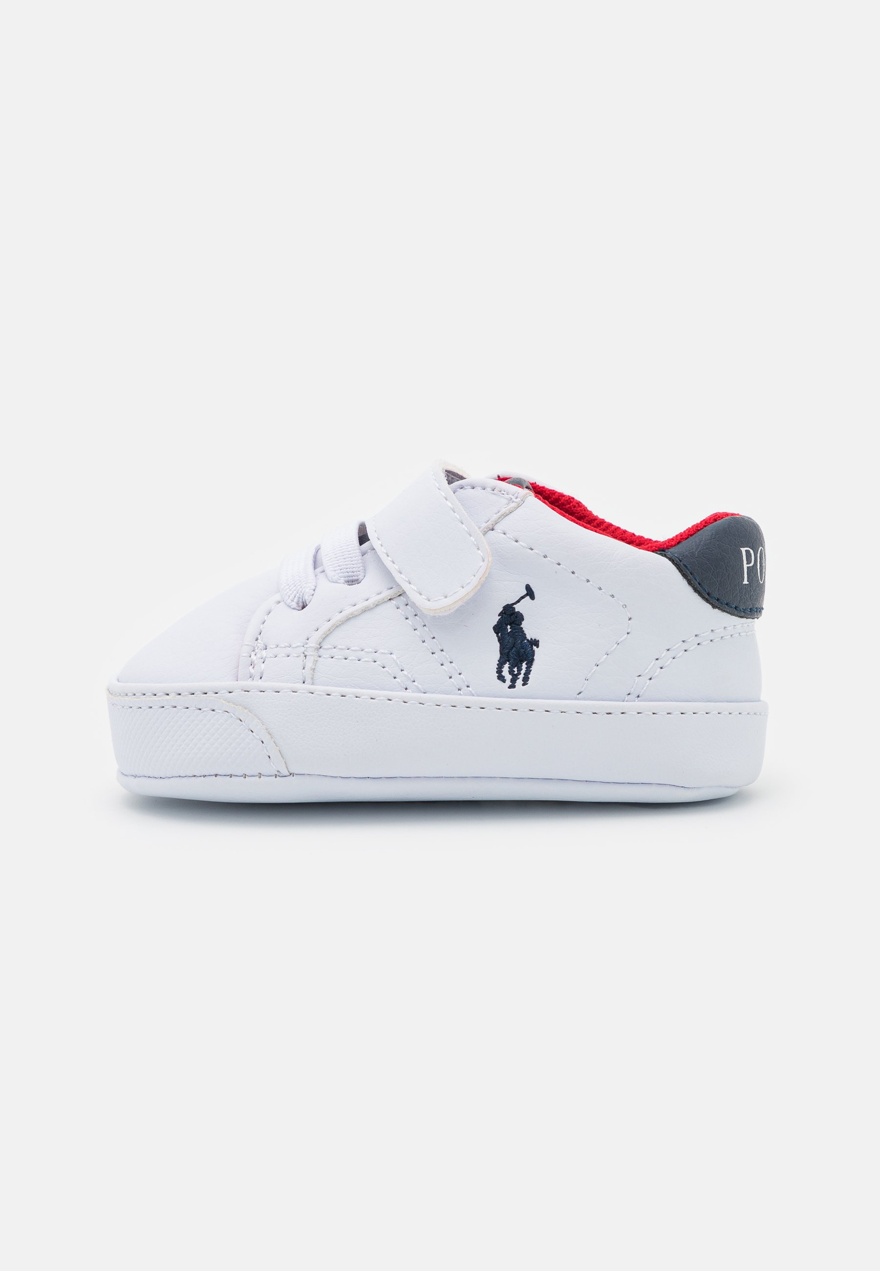 Kids THERON PSLAYETTE - First shoes - white tumbled/navy